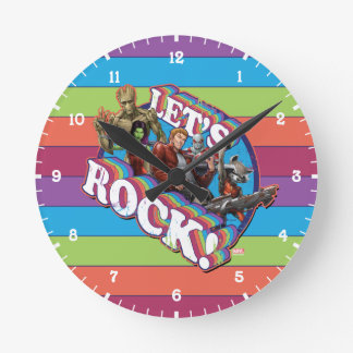 Guardians of the Galaxy | Let's Rock! Round Clock