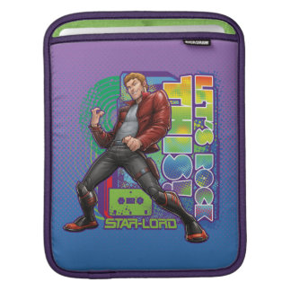 Guardians of the Galaxy | Let's Rock This! iPad Sleeve