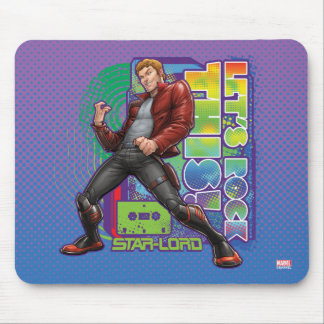 Guardians of the Galaxy | Let's Rock This! Mouse Pad