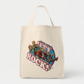 Guardians of the Galaxy | Let's Rock! Tote Bag