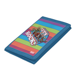 Guardians of the Galaxy | Let's Rock! Trifold Wallet