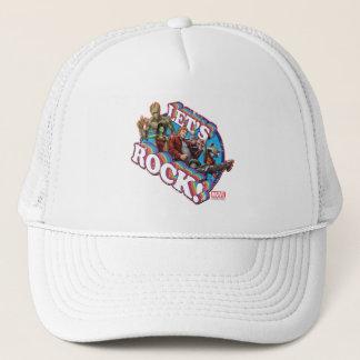 Guardians of the Galaxy | Let's Rock! Trucker Hat