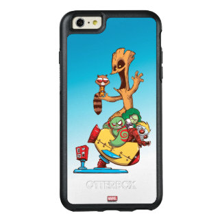 Guardians of the Galaxy | Mechanical Rocket Ride OtterBox iPhone 6/6s Plus Case