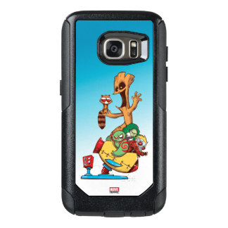 Guardians of the Galaxy   Mechanical Rocket Ride OtterBox Samsung Galaxy S7 Case