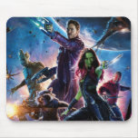Guardians of the Galaxy Movie Poster Mouse Pad