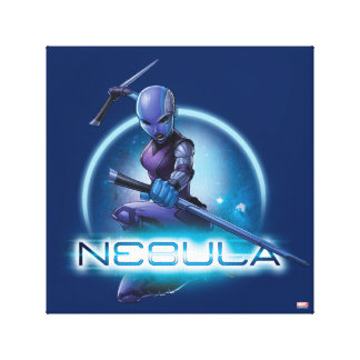 Guardians of the Galaxy | Nebula Character Badge Canvas Print