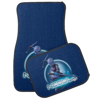 Guardians of the Galaxy | Nebula Character Badge Car Mat
