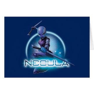 Guardians of the Galaxy | Nebula Character Badge Card