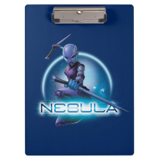 Guardians of the Galaxy | Nebula Character Badge Clipboard