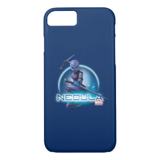 Guardians of the Galaxy | Nebula Character Badge iPhone 8/7 Case