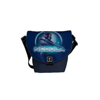 Guardians of the Galaxy | Nebula Character Badge Messenger Bag