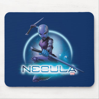 Guardians of the Galaxy   Nebula Character Badge Mouse Pad