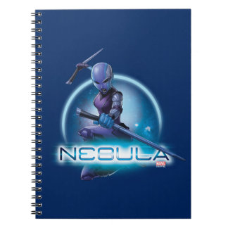 Guardians of the Galaxy | Nebula Character Badge Spiral Notebook