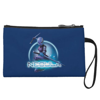 Guardians of the Galaxy | Nebula Character Badge Wristlet Clutches