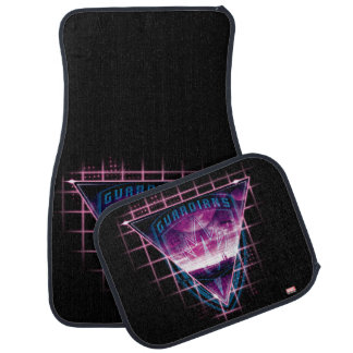 Guardians of the Galaxy | Neon Superimposed Logo Car Mat