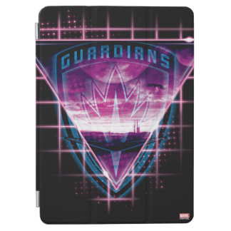 Guardians of the Galaxy | Neon Superimposed Logo iPad Air Cover