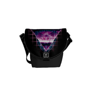 Guardians of the Galaxy | Neon Superimposed Logo Messenger Bags