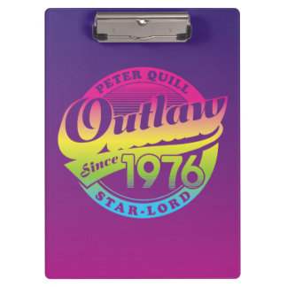 Guardians of the Galaxy | Outlaw Since 1976 Clipboard