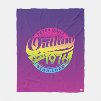 Guardians of the Galaxy | Outlaw Since 1976 Fleece Blanket