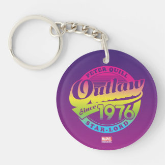Guardians of the Galaxy | Outlaw Since 1976 Key Ring