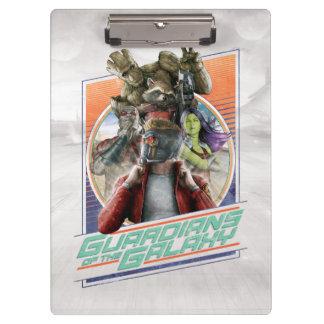 Guardians of the Galaxy | Retro Crew Art Clipboard