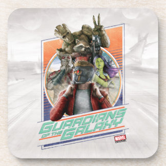 Guardians of the Galaxy | Retro Crew Art Coaster