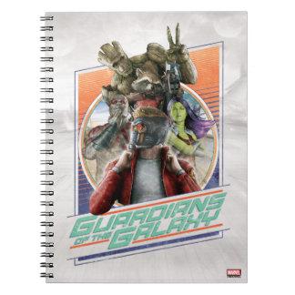 Guardians of the Galaxy | Retro Crew Art Notebook