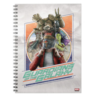Guardians of the Galaxy | Retro Crew Art Notebooks