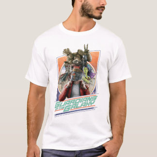 Guardians of the Galaxy | Retro Crew Art T-Shirt