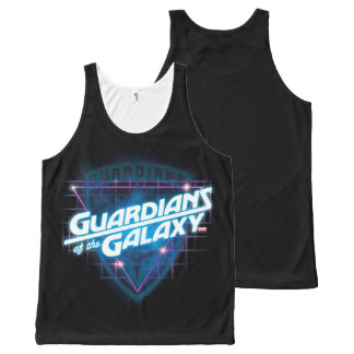 Guardians of the Galaxy | Retro Logo All-Over Print Singlet