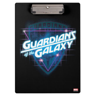 Guardians of the Galaxy | Retro Logo Clipboard