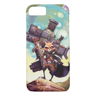Guardians of the Galaxy | Rocket Armed & Ready iPhone 8/7 Case