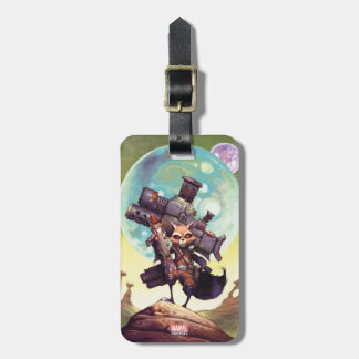 Guardians of the Galaxy | Rocket Armed & Ready Luggage Tag