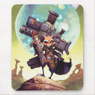 Guardians of the Galaxy | Rocket Armed & Ready Mouse Pad