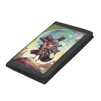 Guardians of the Galaxy | Rocket Armed & Ready Tri-fold Wallets