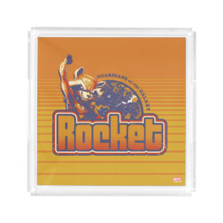 Guardians of the Galaxy | Rocket Character Badge Acrylic Tray