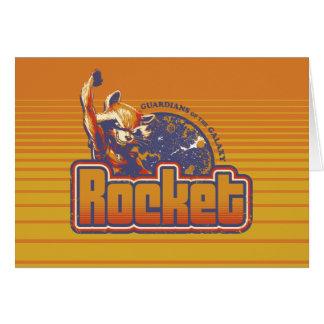 Guardians of the Galaxy | Rocket Character Badge Card