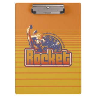 Guardians of the Galaxy | Rocket Character Badge Clipboard