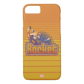 Guardians of the Galaxy | Rocket Character Badge iPhone 8/7 Case