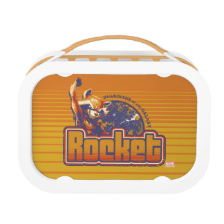 Guardians of the Galaxy | Rocket Character Badge Lunch Box