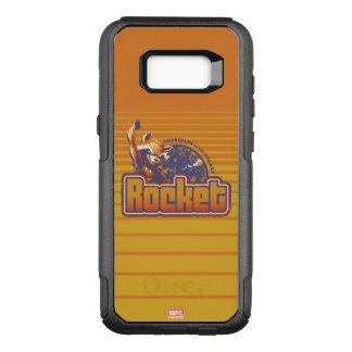 Guardians of the Galaxy | Rocket Character Badge OtterBox Commuter Samsung Galaxy S8+ Case