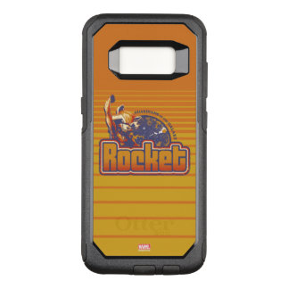 Guardians of the Galaxy   Rocket Character Badge OtterBox Commuter Samsung Galaxy S8 Case