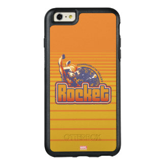 Guardians of the Galaxy | Rocket Character Badge OtterBox iPhone 6/6s Plus Case