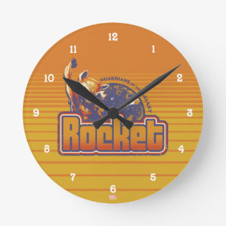Guardians of the Galaxy | Rocket Character Badge Round Clock