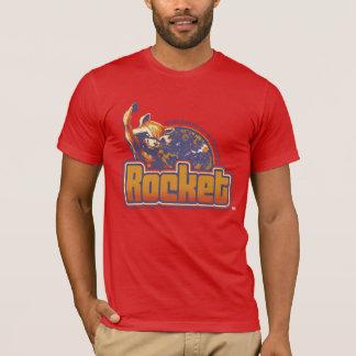 Guardians of the Galaxy | Rocket Character Badge T-Shirt