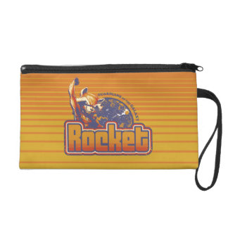 Guardians of the Galaxy | Rocket Character Badge Wristlet Purse