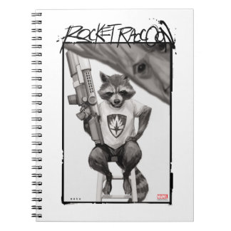 Guardians of the Galaxy | Rocket Comic Cover Art Notebook