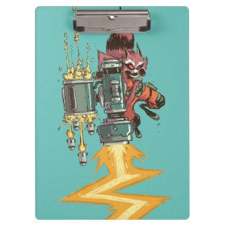 Guardians of the Galaxy | Rocket Full Blast Clipboard
