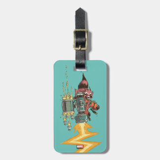 Guardians of the Galaxy   Rocket Full Blast Luggage Tag