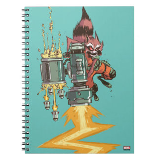 Guardians of the Galaxy | Rocket Full Blast Notebook